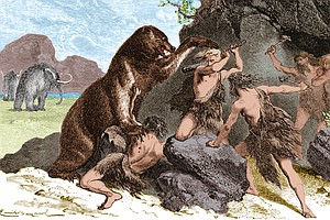 New Study Says Ancient Humans Hunted Big Mammals To Extin...