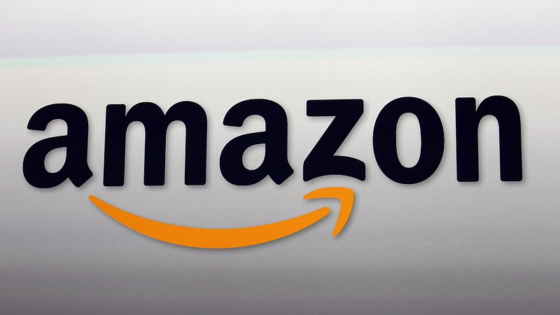 The Amazon logo is shown in this undated photo.