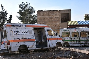 Sheer Number Of Attacks On Health Facilities In Syria Sho...