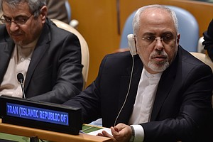 Iran's Foreign Minister Comes To America, Keeping One Eye...
