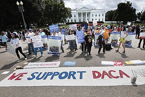 Federal Judge Upholds DACA, Calling White House Decision ...