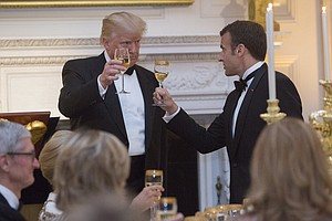 First Trump State Dinner Brings Billionaires And Administ...
