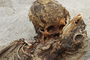 Remains Of More Than 140 Children Who Were Sacrificed Fou...