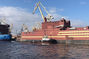 Russia Launches Floating Nuclear Power Plant; It's Headed...