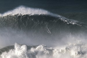 WATCH: Surfer Rides Record-Breaking, 80-Foot Giant
