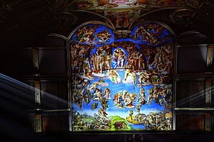 The Sistine Chapel Gets Its Own High-Tech Spectacle, With Music By Sting