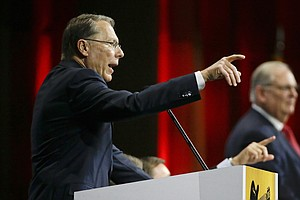 Gun Control Advocates To Press Russia Questions During NR...