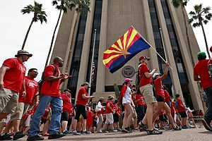 Arizona Teachers Vow To Maintain Walkout 'Until A Budget ...