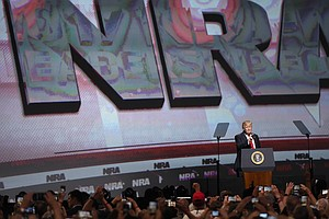 NRA Rallies Members In Dallas Despite New Pressure And Anger After Parkland