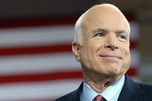 Exclusive Audio: In New Memoir, Sen. John McCain Rests Hi...