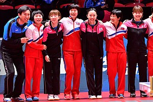 North, South Korea Skip Table Tennis Match Against Each O...