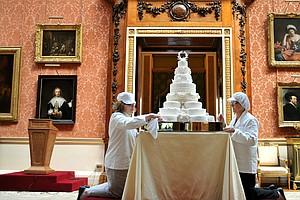 Slice Of History: Pieces Of British Royal Wedding Cakes U...