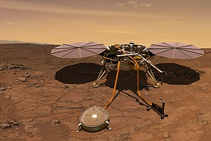 NASA Is Heading Back To Mars To Peer Inside The Red Planet