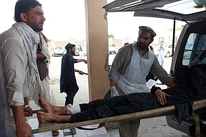 Bomb Blast Inside Mosque Kills At Least 14 In Eastern Afg...