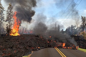 Lava Eruptions Destroy Several Homes, Wreak Havoc In Hawaii