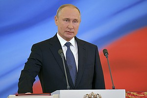Putin Starts Historic Fourth Term As Russian Leader