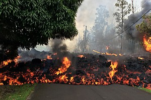 PHOTOS: Fissures, Lava Flow And Evacuations Continue On H...