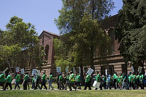 After 3-Day Strike, University Of California's Service Wo...
