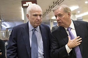 John McCain's Absence Weighs On The Senate