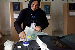 Light Turnout In Iraq Parliamentary Elections
