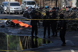 Suicide Bombers Kill At Least 13, Wound Dozens At Churches In Indonesia