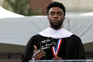 'Black Panther' Star Chadwick Boseman Lauds Student Activism In Howard Commen...