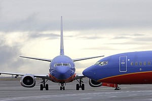 Southwest Jet Loses Some Cabin Pressure During Flight, La...