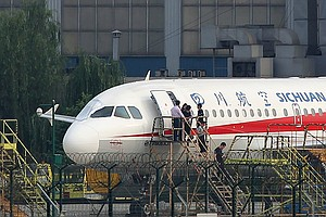 Chinese Jet Lands Safely After Co-Pilot Partially Sucked Out Of Windshield