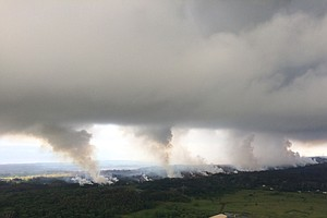 'Ballistic Blocks' Shooting From Kilauea's Crater, USGS Says