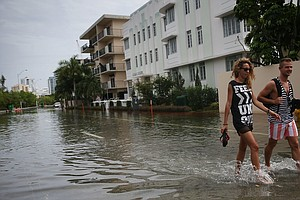 Foreign Investors Shrug Off Miami's Rising Sea Levels