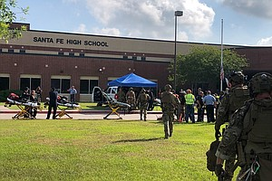 10 People Killed In Texas High School Shooting; Suspect I...