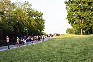 Human Ashes Left At The Vietnam Memorial Find A Not-Final...