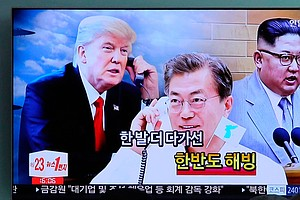 As Trump-Kim Summit Approaches, South Korea's Leader Head...