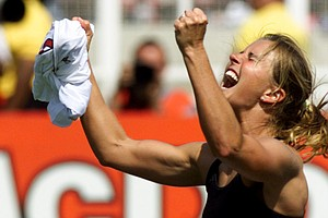 Brandi Chastain's Hall Of Fame Plaque Looks Like Basically Anyone But Her