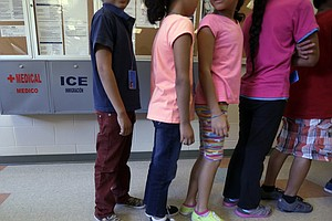 Photo for L.A. Judge Orders Release Of Migrant Children In Custody