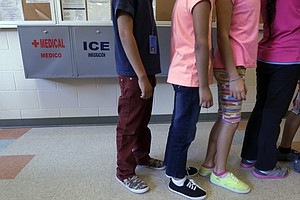 ACLU Report: Detained Immigrant Children Subjected To Wid...