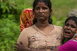 'They Were All Slaughtered': Amnesty Says Rohingya Milita...