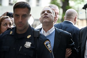Harvey Weinstein Charged With Rape After Surrendering To ...