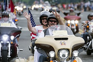 Bikers From Across America Ride To Remember Soldiers 'Unaccounted For'