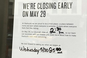 Starbucks Closes More Than 8,000 Stores Today For Racial ...