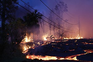 Kilauea's Fast-Moving Lava Threatens Another Community, V...