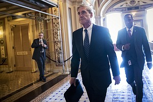 Report: In A Letter To Mueller, Trump's Lawyers Say He Ca...