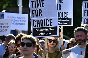 Ireland Voted To Allow Abortion. But It's Still Strictly Banned In Northern I...