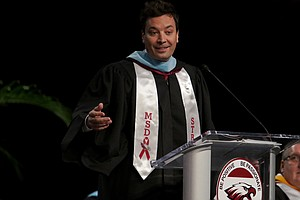 Jimmy Fallon To Parkland Graduates: 'That Was You Choosin...