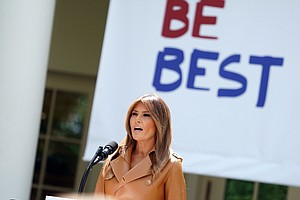 One Month Later, What's Become Of Melania Trump's 'Be Bes...
