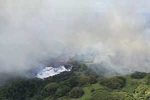 Lava From Kilauea Boils Away Freshwater Lake In Hawaii