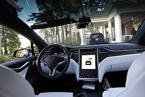 No Driver Input Detected In Seconds Before Deadly Tesla C...