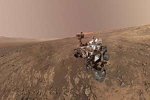 NASA's Curiosity Rover Finds Chemical Building Blocks For...