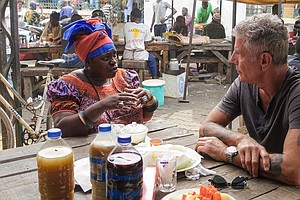 When Anthony Bourdain Had Breakfast With Ofeibea Quist-Ar...