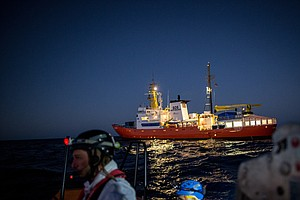 Italy And Malta Close Their Ports To Migrant Rescue Ship;...